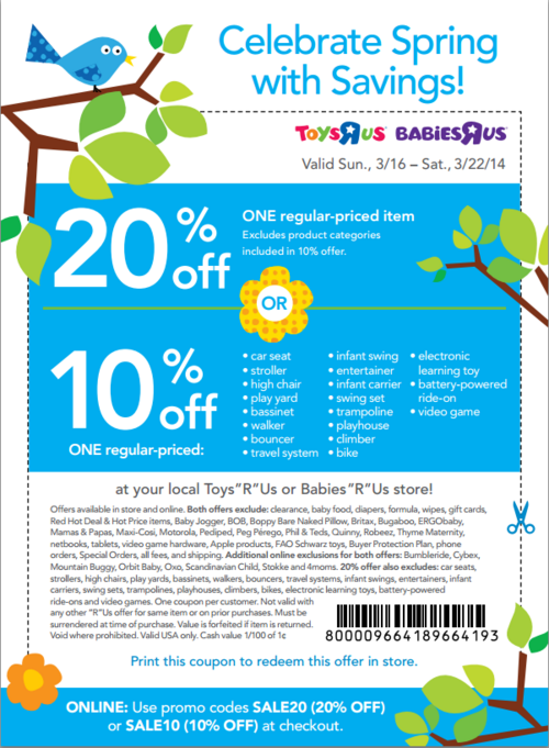 20 Off Babies R Us Online : babies, online, Percent, Regular-priced, Select, Product, Regular, Price, Babies, Wit…