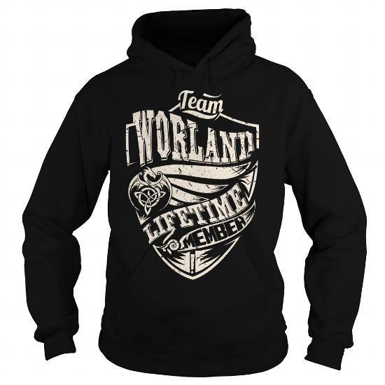 Cool Team WORLAND Lifetime Member (Dragon) - Last Name, Surname T-Shirt T shirts