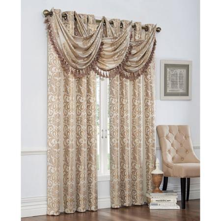 Verano Polyester Curtain Panel - Walmart.com | house | Pinterest ...