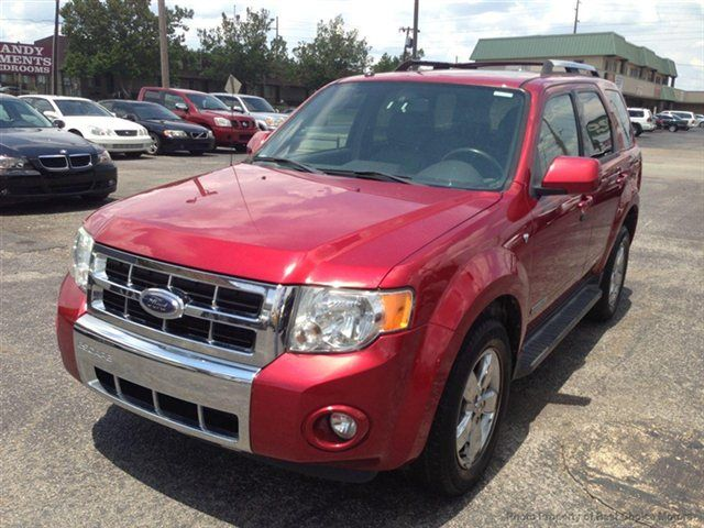 2008 Ford Escape Limited 4 X 4 We Still Own This One Tan Leather