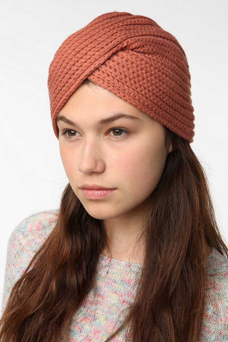 Pins and Needles Ribbed Knit Turban | KNITKNIT | Pinterest | Stricken