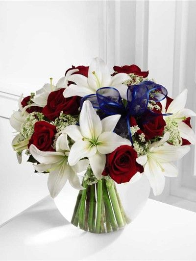 Red white blue flowers independence bouquet premium ftd b30 red white blue flowers independence bouquet premium ftd b30 4341p mightylinksfo