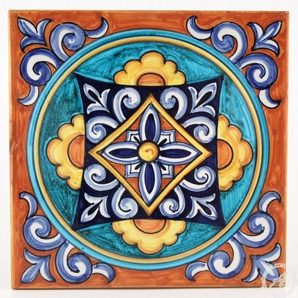 Italian Tiles Italian Ceramic Tile Mail: Decorative Tile, Italian Tiles