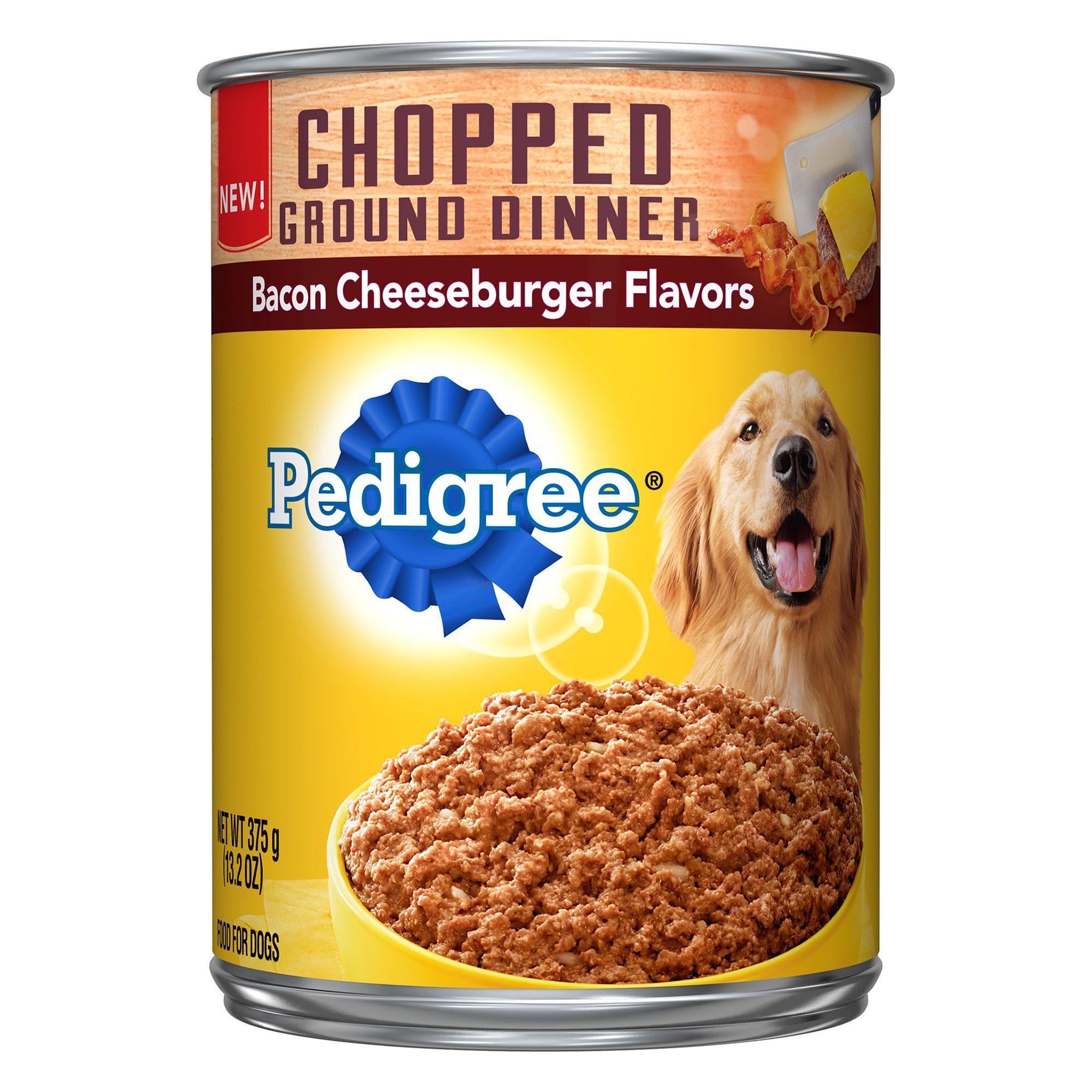 Pedigree Chopped Ground Dinner Adult Dog Food Copper Gum Zinc