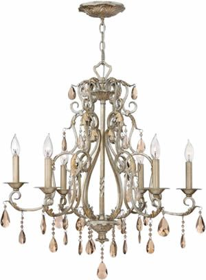 Hinkley lighting 4776sl chandelier from the carlton collection hinkley lighting 4776sl chandelier from the carlton collection reproduction chandeliers deep discount lighting crystal pinterest discount lighting aloadofball Image collections