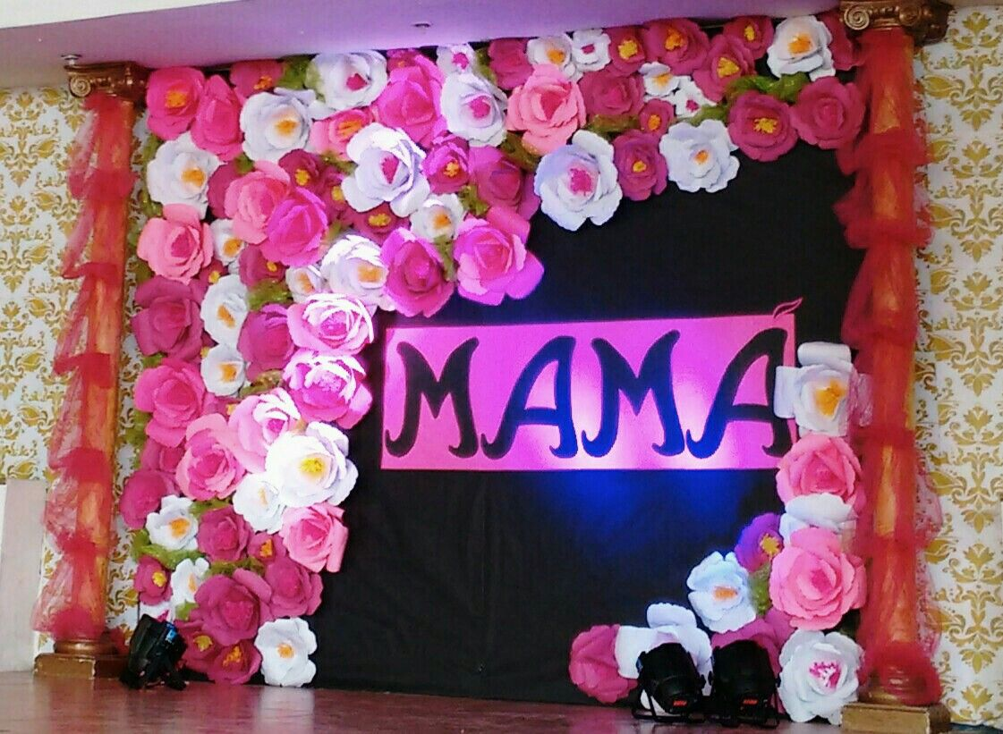 decoraci n d a de las madres manualidades mothers day decor mexican fiesta y gifts. Black Bedroom Furniture Sets. Home Design Ideas