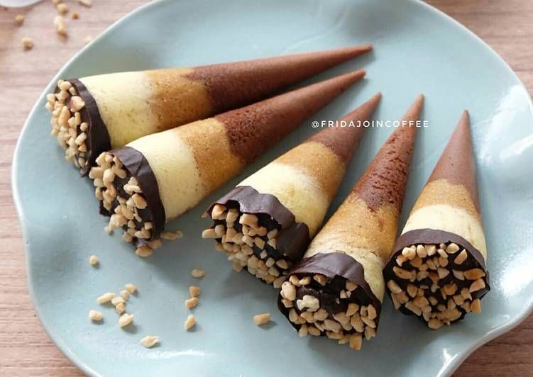 Resep Bolu Kukus Cornetto Oleh Fridajoincoffee Resep Resep Kue Lezat Ide Makanan