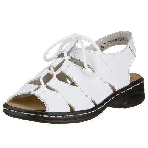 Rieker Anett 64510 80 Damen Sandalen Weiss 80 Rieker Schuhe Sandalen Schuhe
