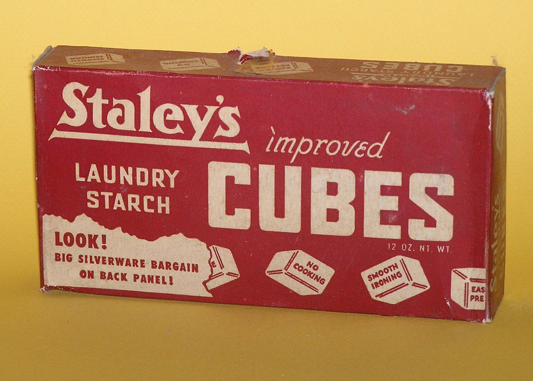 Staley S Laundry Starch Cubes Smelly Laundry Washer Odor