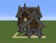 Small Medieval House 7 Grabcraft Your Number One Source