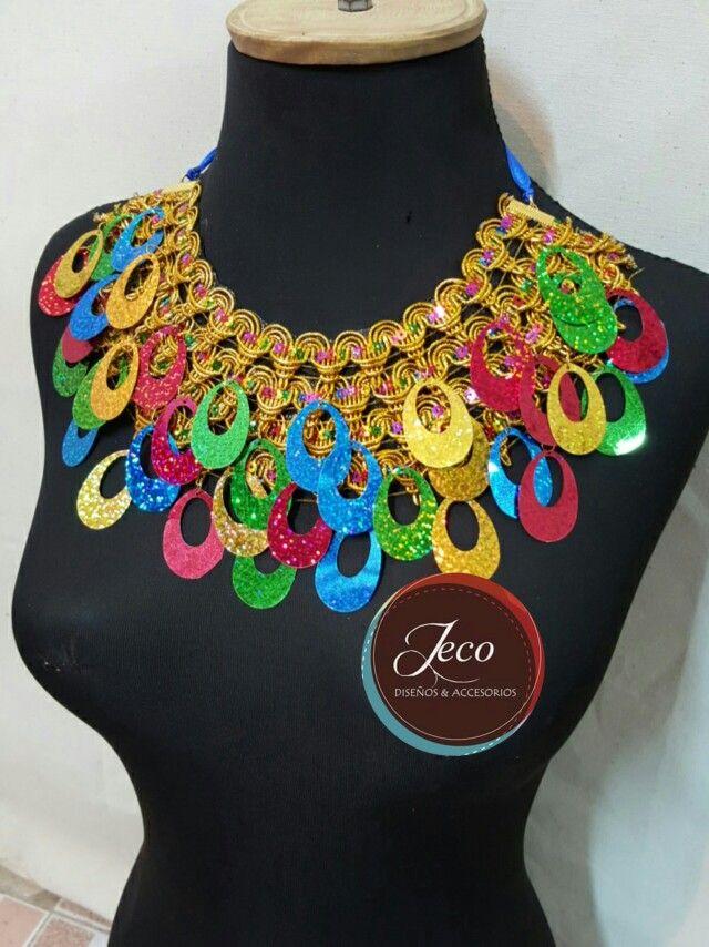 Modelos de collares de carnaval