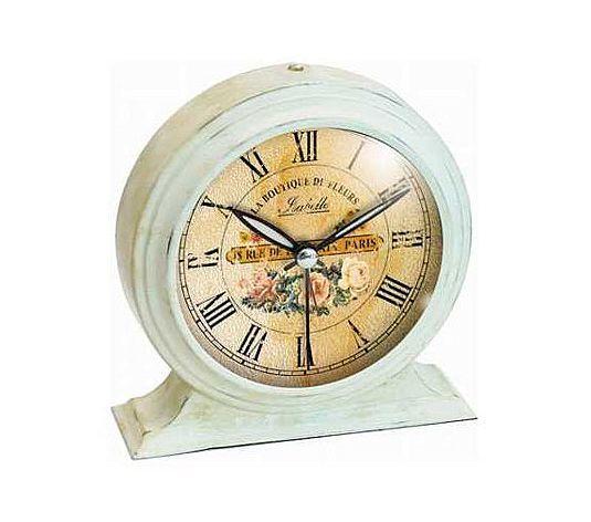 Qvc Floor Mirror >> Vintage Boutique Alarm Clock   Shabby chic alarm clock ...