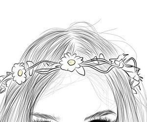 Flower Crown Tumblr Flower Crown Drawing Crown Drawing Drawings