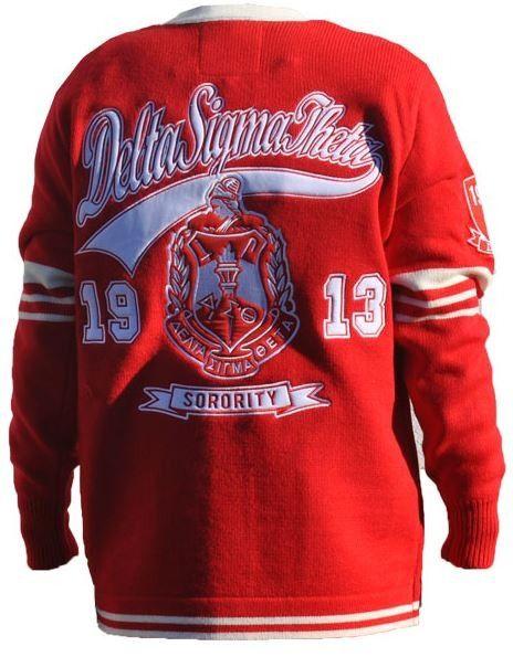 Delta Sigma Theta sweater Delta sigma theta apparel