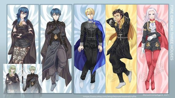 Fire Emblem: Three Houses, Byleth, Claude, Edelgar