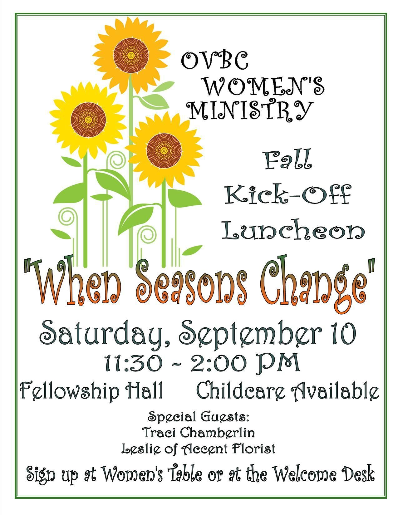 Ideas to honor widows