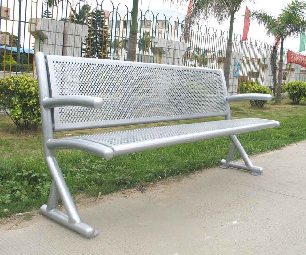 Powder Coated Metal Garden Bench Outdoor Furniture Bench Seat View Metal Garden Bench Gavin Product Details From Guangzhou Gavin Urban Elements Co Ltd On A