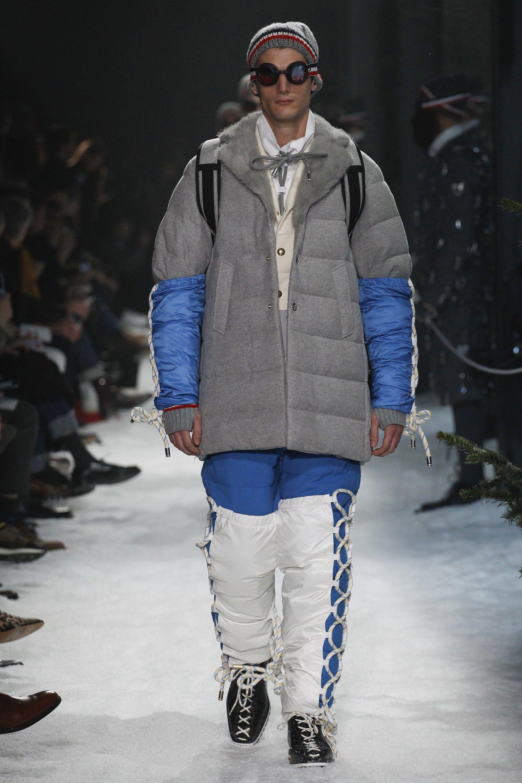 Moncler Gamme Bleu Fall 2017 Menswear Fashion Show Menswear Fashion Moncler