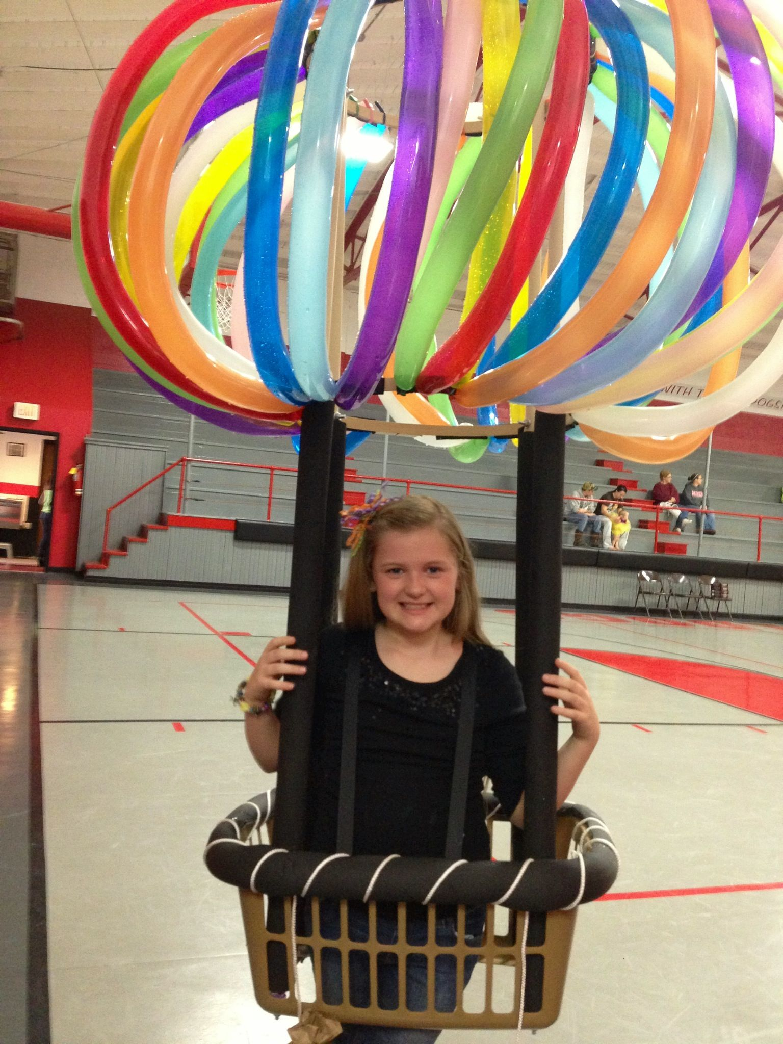Hot Air Balloon Costume! Diy halloween costumes for kids
