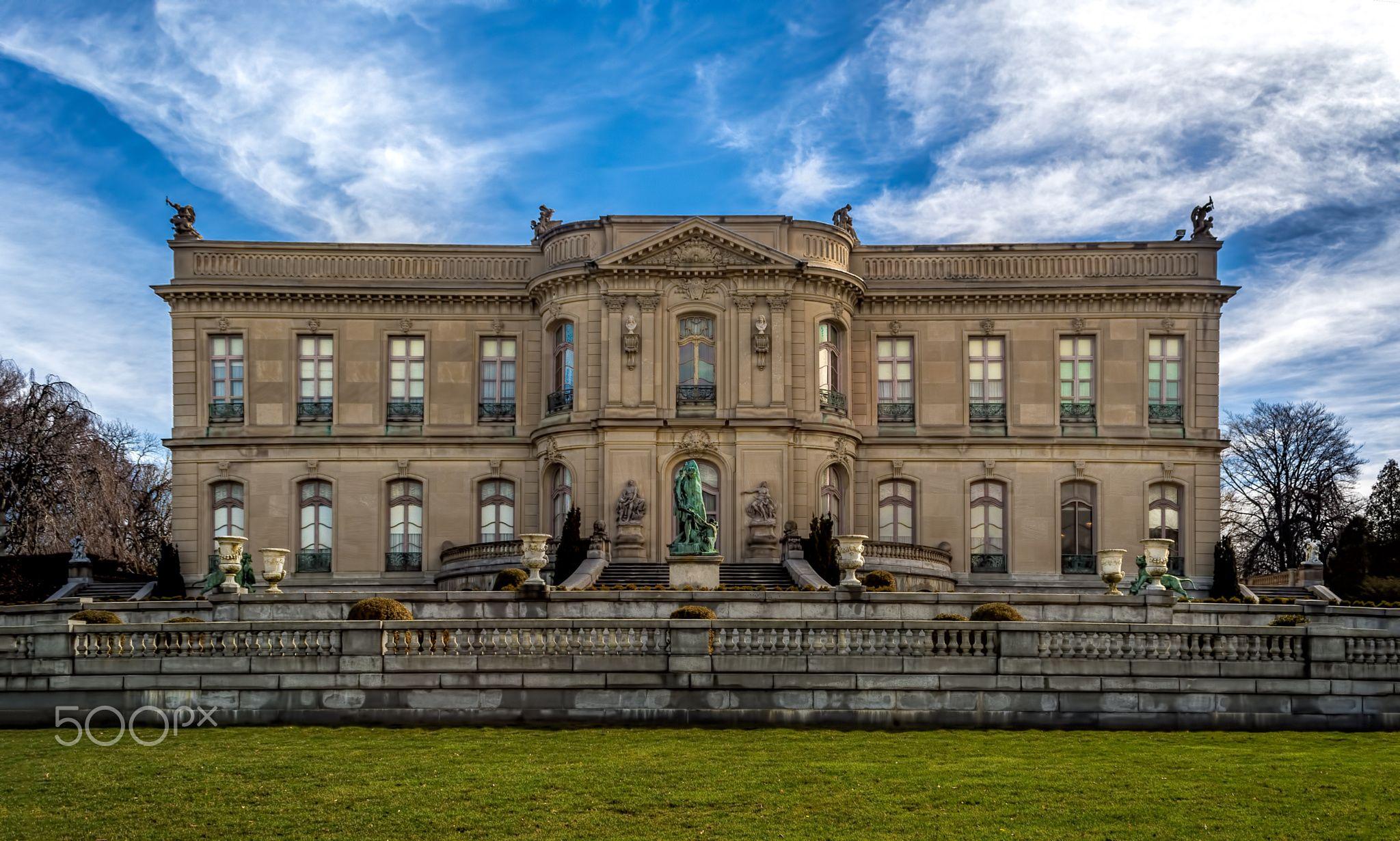 The Elms Mansion In Newport Rhode Island