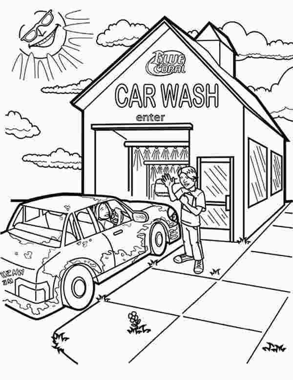 Car Wash Coloring Pages Race Car Coloring Pages Kitty Coloring Free Coloring Pages
