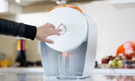 JUISIR: Juicing without cleaning