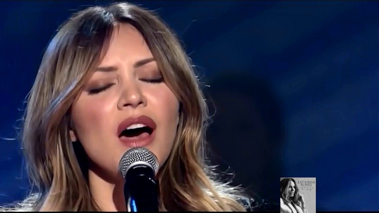 Katharine Mcphee Live With David Foster 2018 I Fall In Love Too Easily Youtube Katharine Mcphee The Fosters American Idol Contestants