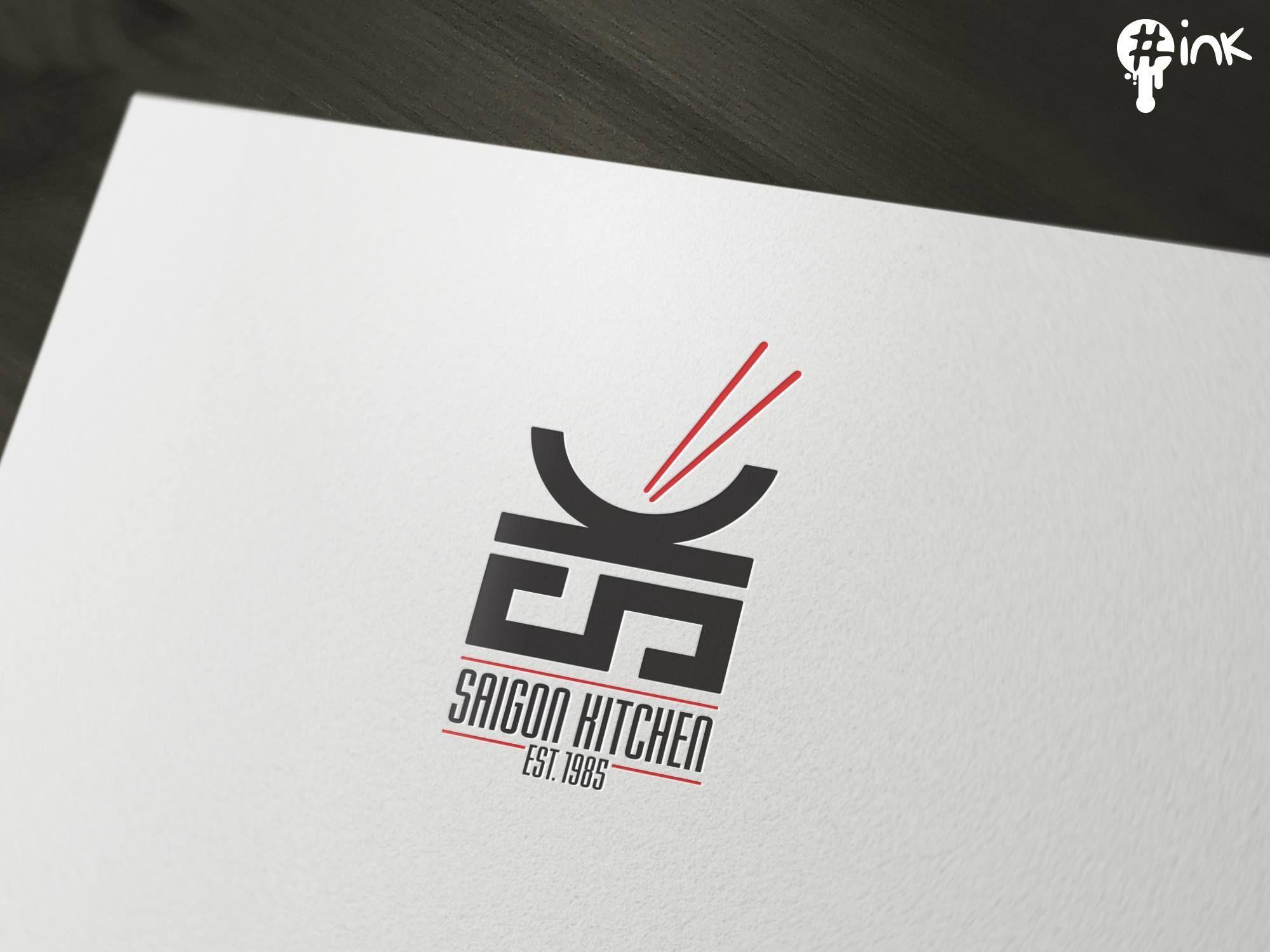 Unique & smart logo design for Saigon Kitchen, an Asian restaurant ...