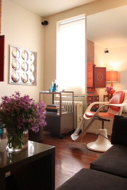 Wendys LiveIn Speakeasy Salon  House Tour  Hair News Network  Salon Design  Salons Home