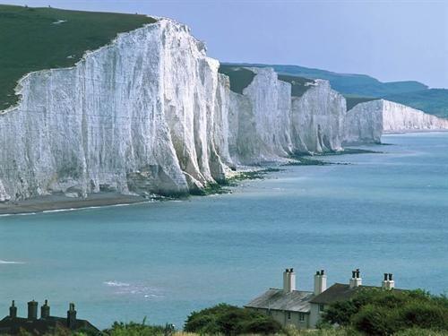 7 Sisters Cliffs on Irish coast