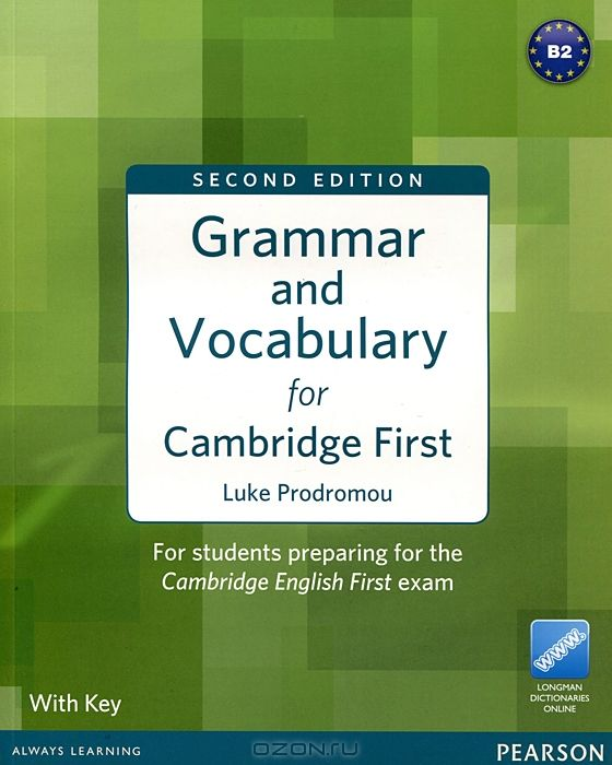 Grammar and vocabulary for cambridge first for students preparing grammar and vocabulary for cambridge first for students preparing for the cambridge english first exam fandeluxe Images