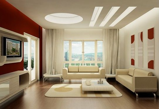 Livingroomideas2012Withflatscreentv  Meus Próximos Endearing Modern Living Room Design Ideas 2012 Review
