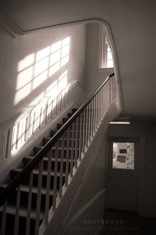 Space Inside Interior Window Stairs Apartment