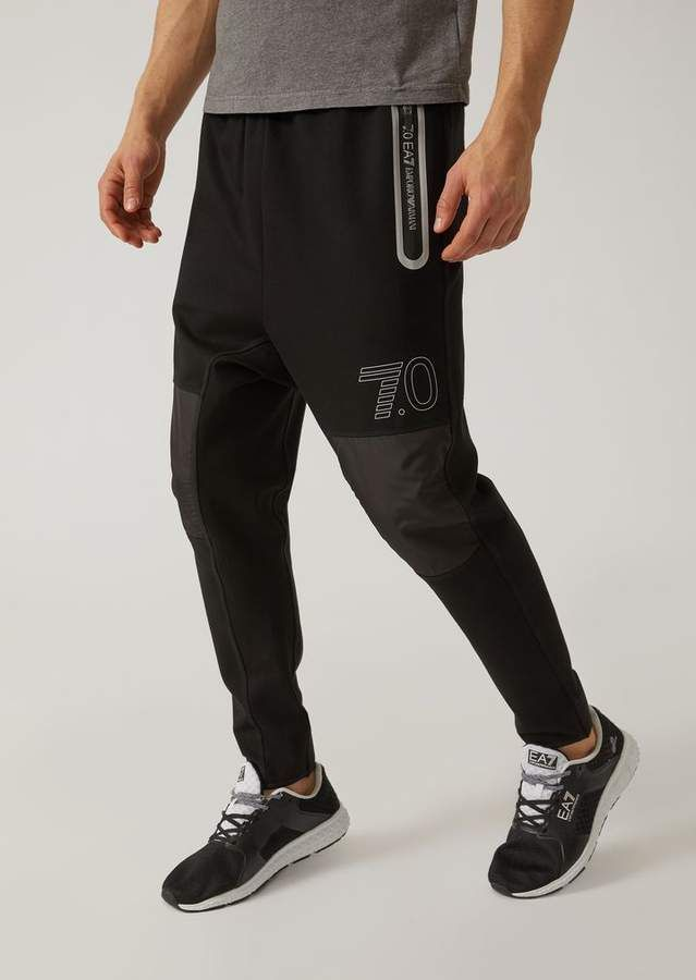 5bff9b7e73 Emporio Armani Ea7 7.0 Premium Technical Fabric Joggers | Products ...