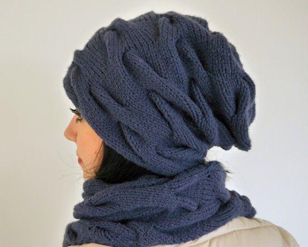 Strickanleitung 109 Zopf Beanie Alle Größen Stricken Crochet