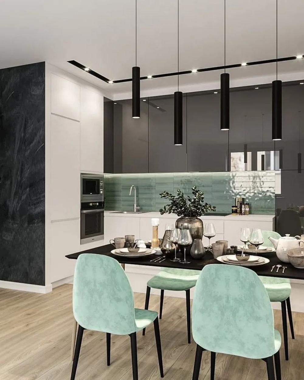 23 Luxurious Dining Room Design Ideas That Looks Awesome 18 Lumbung Batu Com Modern Kitchen Design Home Decor Kitchen Interior Design Kitchen