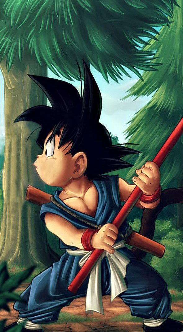 Pin by judith staples on 3d wallpaper kid goku goku - 3d wallpaper of dragon ball z ...