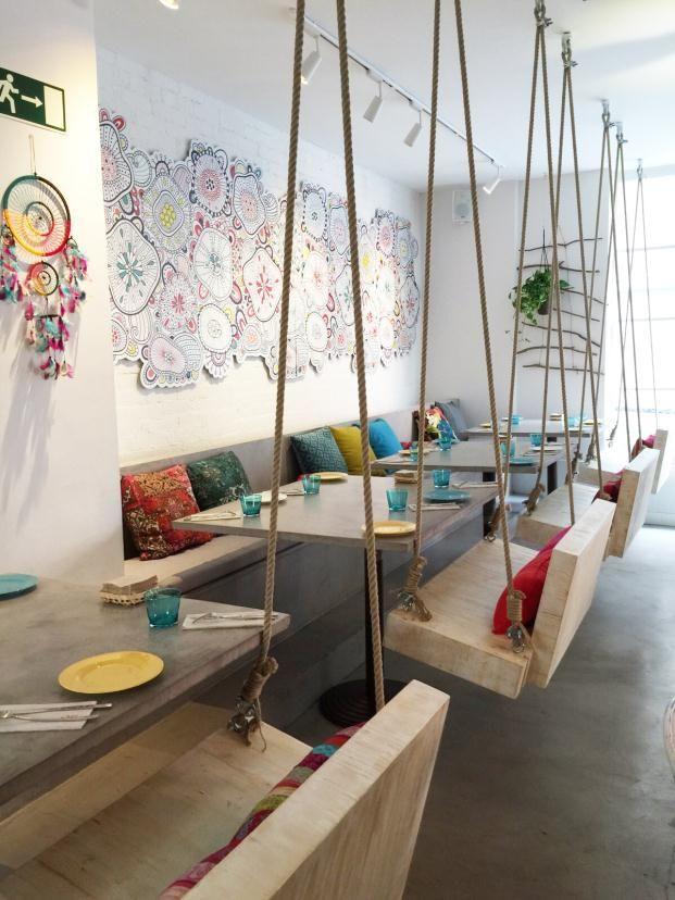 bohobar madrid hector ruiz velazquez 24 Cafe Design Interior Boho Bar