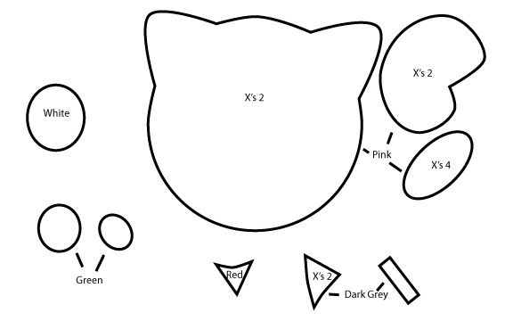 B4A Studios: How to make a JigglyPuff plush tutorial