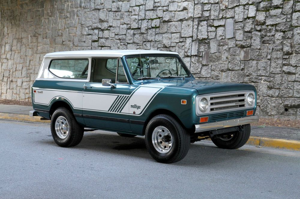1972 International Harvester Scout Scout Ii Rallye