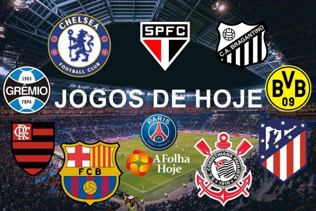 Todos Os Jogos De Futebol De Hoje Confira Abaixo Os Jogos E Suas Transmiss Veja Os Jogos De Hoje Do Brasileirao Copa Jogos De Futebol Futebol Futebol Nacional
