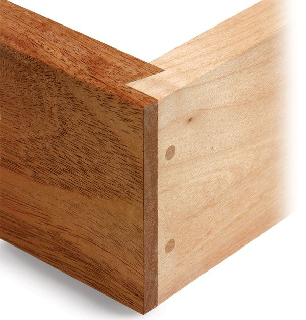 Rabbeted Dovetail Joint Is A Half Version Of A Sliding