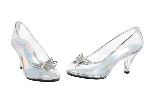 Shoes Glass Slipper Sz 10 Cinderella Wedding Shoes Costume Shoes Cinderella Shoes