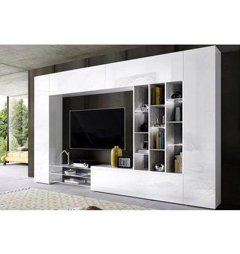 Tecnos Wohnwand (6-tlg) Anbauwände (modern\/rustikal) Jetzt - wohnzimmer modern rustikal