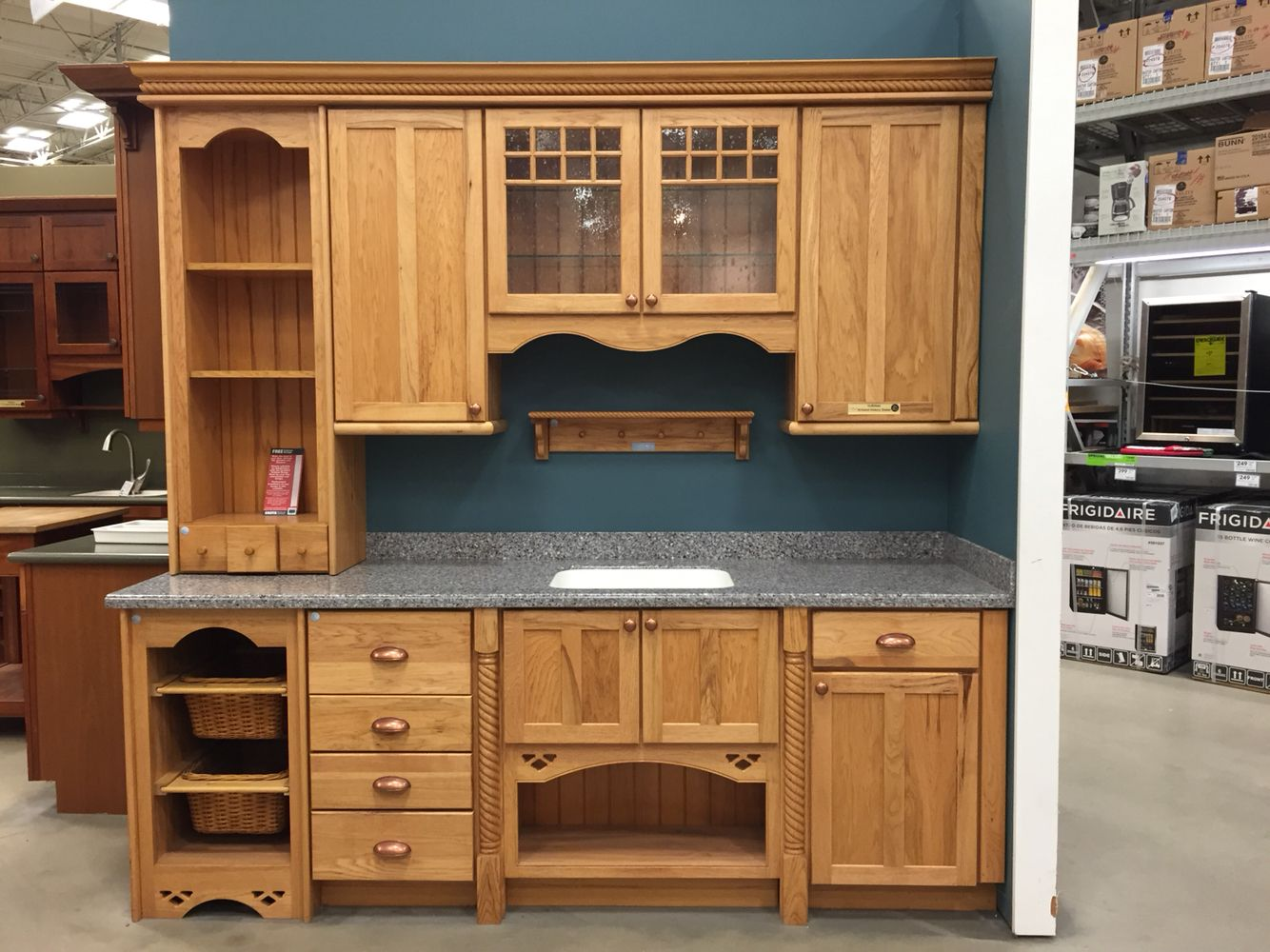 Home Depot has my dream kitchen I want them in a