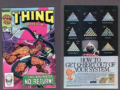 THING #10 Marvel 1984 Secret Wars Byrne Fantastic Four Comic DIRECT EDITION!