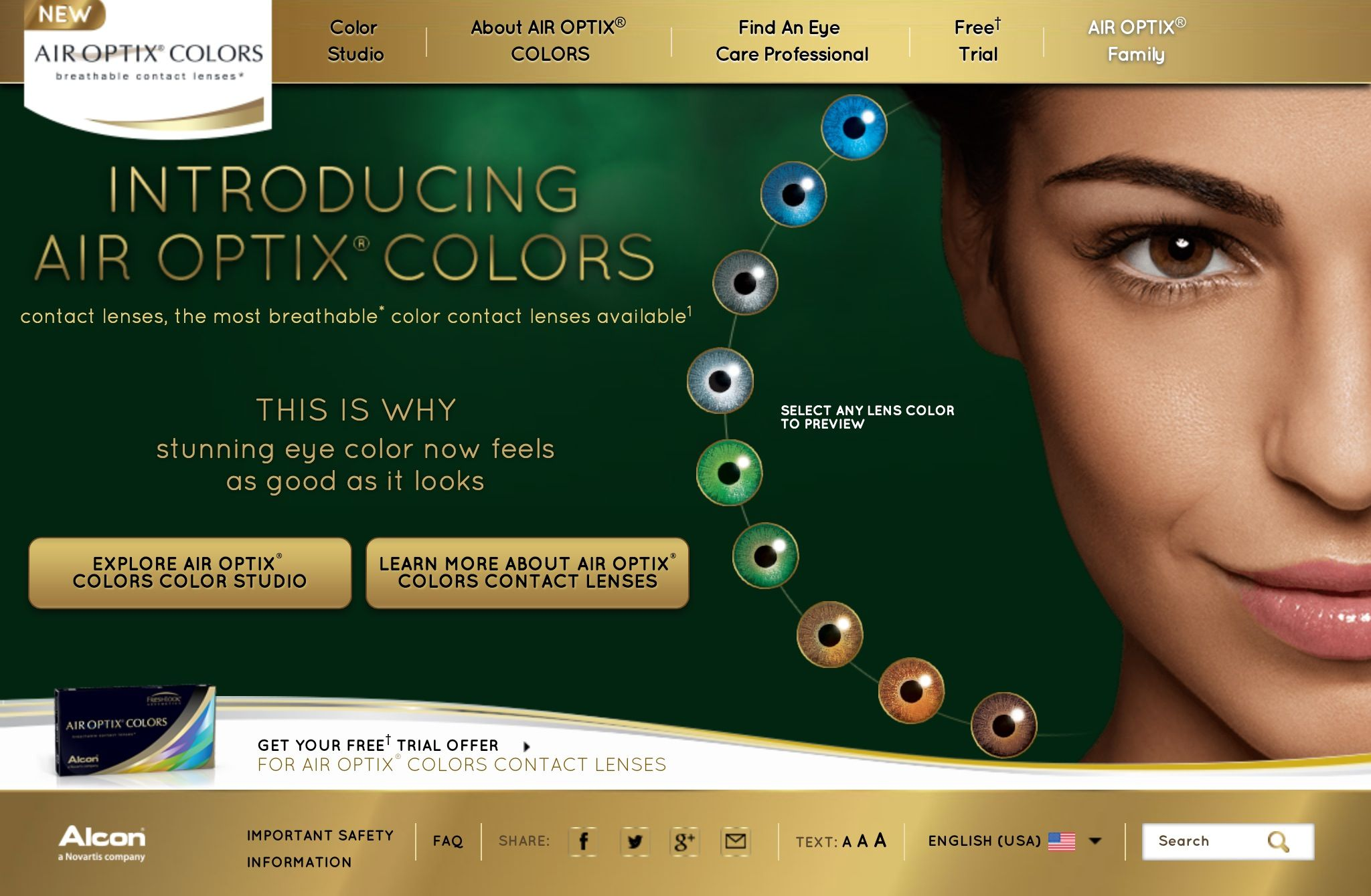 Awesome new colored contacts that just appeared on the