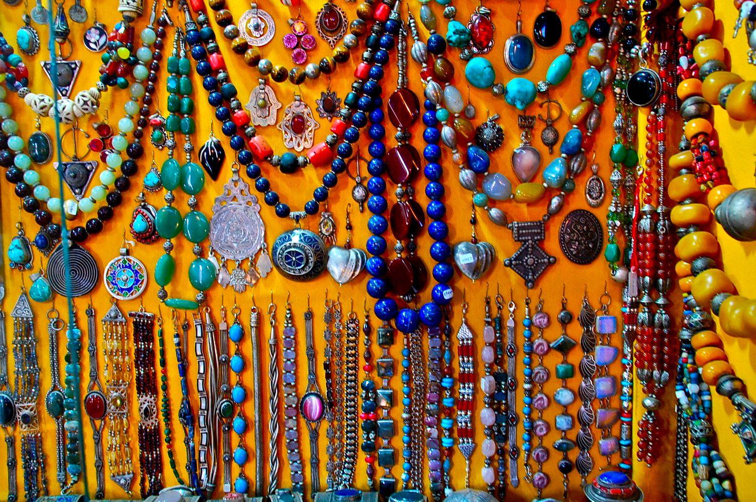 e20febd900e6c Berber market Morocco beads | Travel to Morocco and shop the souks ...
