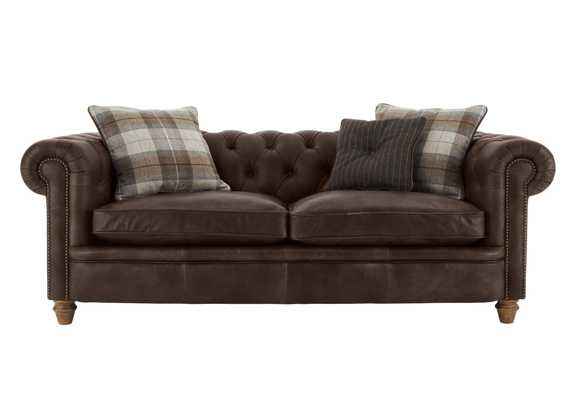 Discover the New England Newport 2 Seater Leather Sofa It offers