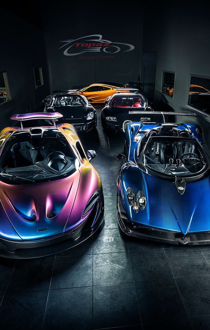 There Are At Least 15 Million Worth Of Supercars In This One Room